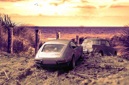 Nature, Outdoors, Desert, Sunset, Sky, Rent A Car