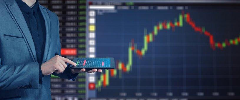 Stock Exchange, Profits, Boom, Businessman, Tablet