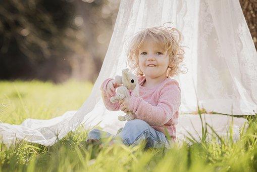 Child, Cute, Nature, Summer, Girl, Toddler, Blonde