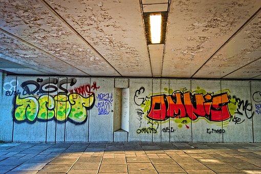 Graffiti, Text, Spray, Paint, Expression, Creativity