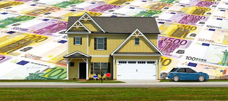 Financing, Housebuilding, House, Auto, Vehicle, Credit
