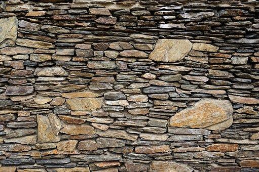 Stone, Wall, Old, Rough, Pattern, Brick, Stonewall