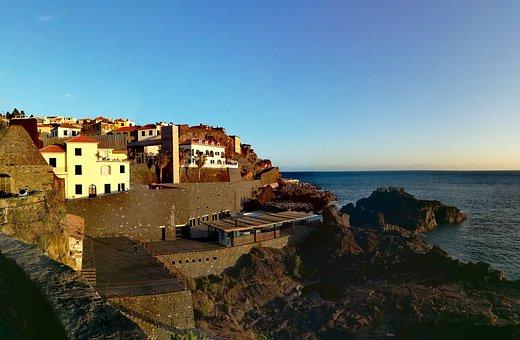 Architecture, Coast, Travel, Sea, Waters, Madeira