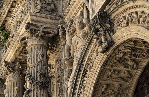 Cathedral, Monument, Art, Architecture, Stone