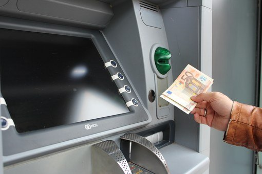 Atm, Money, Euro, Withdraw Cash, Cash