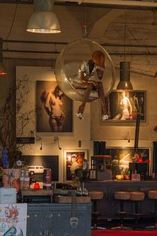 Interior, Business, Art, Atmosphere, Nude, Room, Bar