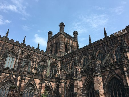 Chester, Chester Cathedral, Cheshire, Architecture
