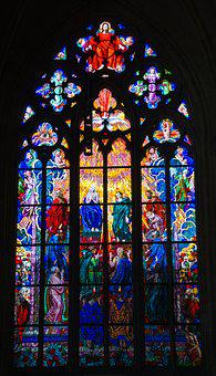 St Vitus Cathedral, Dom, Cathedral, Prague, Church
