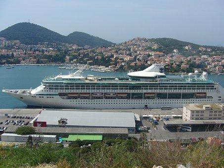 Dubrovnik, Croatia, Mediterranean, Town, Europe, City