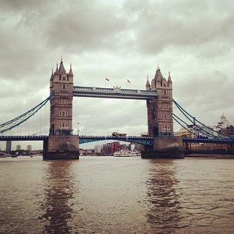 London, Tower, Tower Bridge, Bridge, England