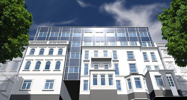 Exterior, Conversion, Glass Front, Renovation