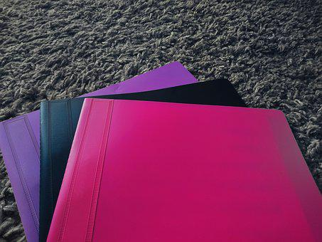 Folders, Fast Stapler, Folder, School, Portfolio