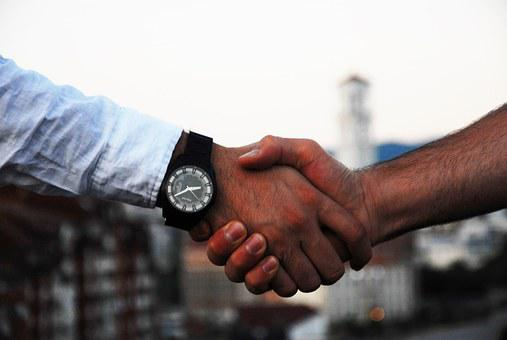 Handshake, Business, Hand, Agreement, Communication