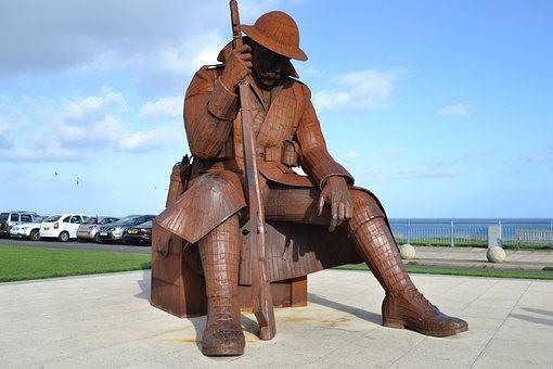 Monument, War, Rememberance, Landmark, History, Soldier