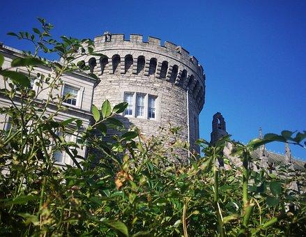 Dublin, Castle, Ireland, Architecture, Tower, Travel