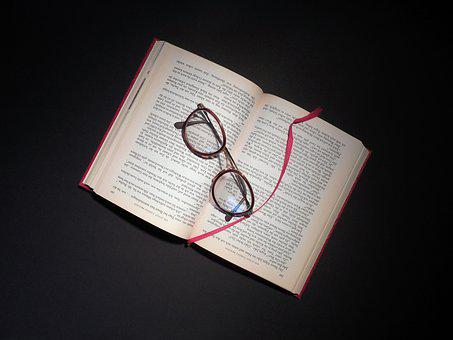 Book, Read, Glasses, Literature, Pages, Book Pages