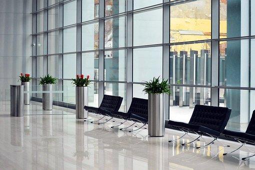 Inside, Business, Center, Interior, Foyer, Lobby
