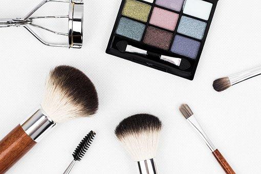 Makeup Brush, Make Up, Brush, Cosmetics, Makeup