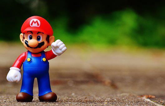 Mario, Fig, Play, Nintendo, Super, Retro, Classic