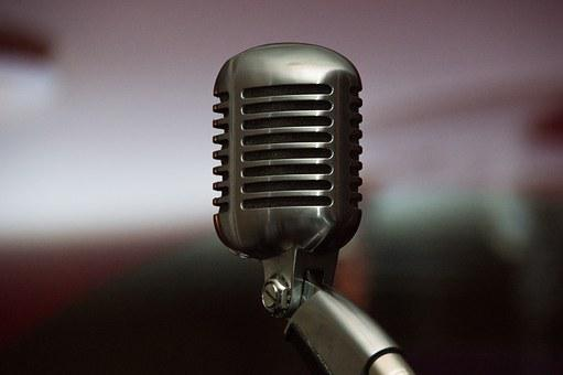 Microphone, Singing, Music, Vocal Microphone, Live