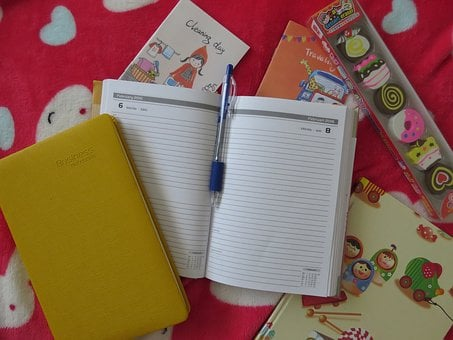 Note, Notepad, Yellow, Cute, Paper, Business, Notebook