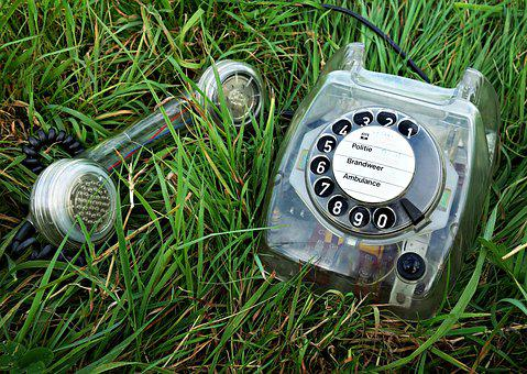 Telephone, Retro, Old Fashioned, Analog, Phone