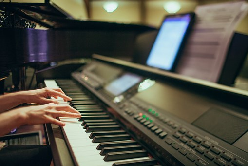 Piano Playing, Pianist, Hands, Piano, Digital, Keyboard
