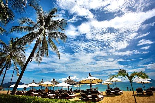 Beach, Resort, Vacation, Summer, Sea, Travel, Ocean