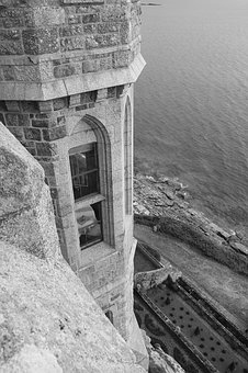 Castle, St Michael's Mount, Sea, Island, Tourism