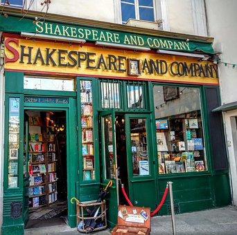 Shakespeare And Company, Paris, Books, Bookstore