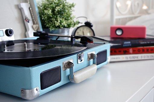 Record, Vintage, Record Player, Music, Vinyl, Sound
