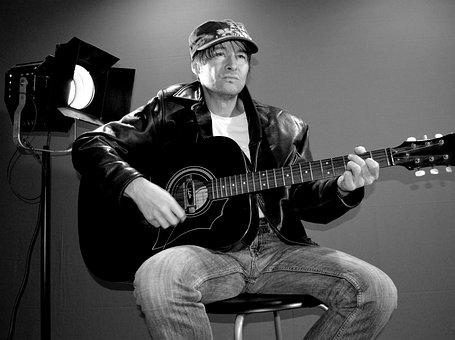Star, Rock Star, Guitar, Music, Musician, Guitar Player