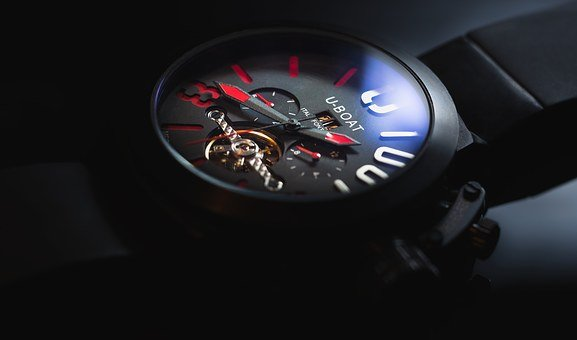 Clock, Watch, Time, Hand, Chronograph, Duration, Marker