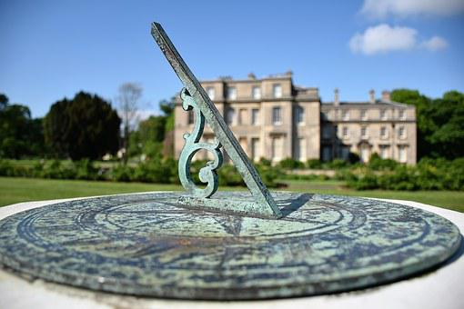 Sundial, Normanby Hall, Country Park, Instrument, Time