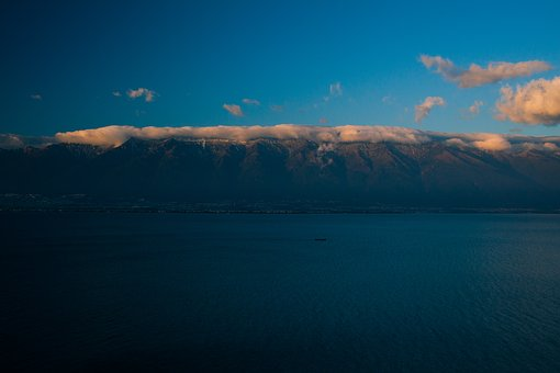 Dali, Cangshan, Erhai Lake, Snow Mountain, Twilight