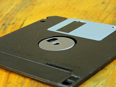 Floppy, Vintage, Memory, Computer, Old, Ancient