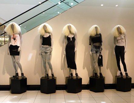 Shopping, Dolls, Wigs, Fashion, Women
