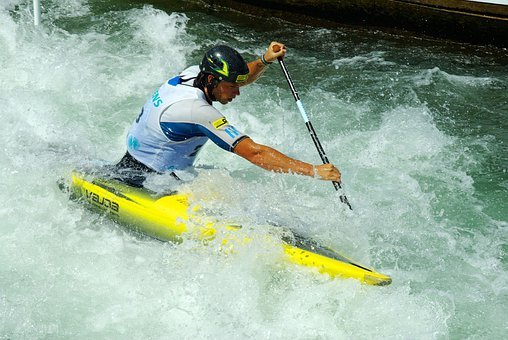 White Water, Canoeing, Competition, Sport, Activity