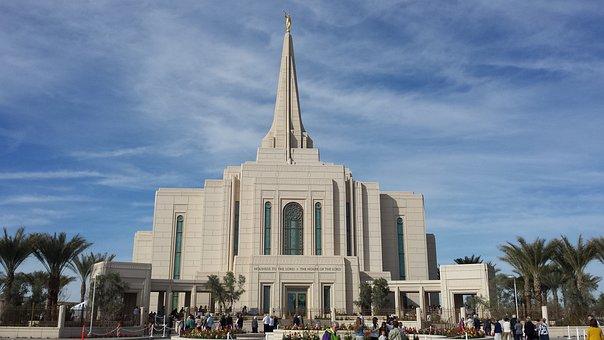 Mormon Temple, Latter Day Saint, Temple, Arizona