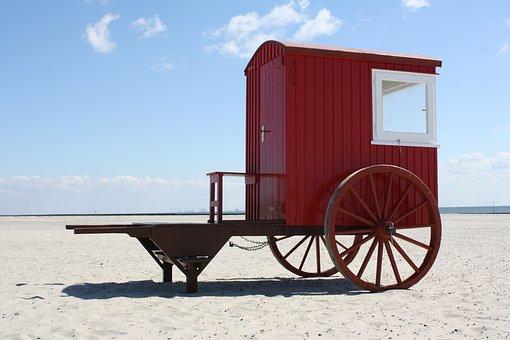 Vehicle, Beach, Summer, Travel, Sea, Transport