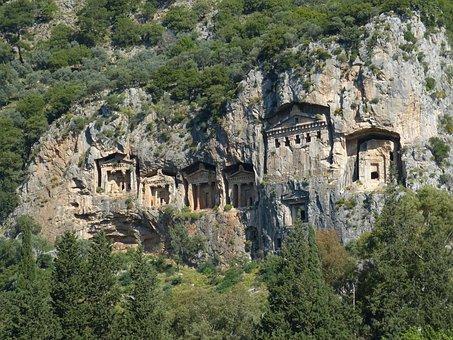 Lycia, Myra, Inscription, Grave, Cemetery, Crypt, Cave