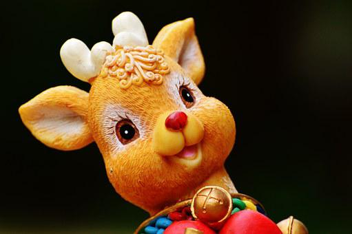 Christmas, Fig, Decoration, Nicholas, Gifts, December