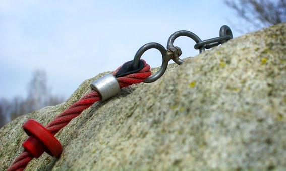 Mountaineering, Rope, Climb, Secure, Security, Backup