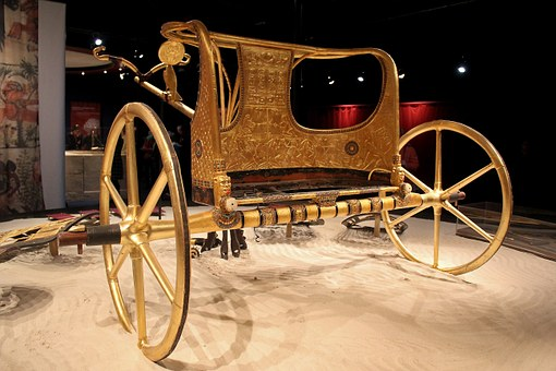 Ancient Times, Chariot, Egypt, Museum, Burial Chamber
