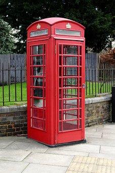 England, Phone Booth, Dispensary, Telephone House