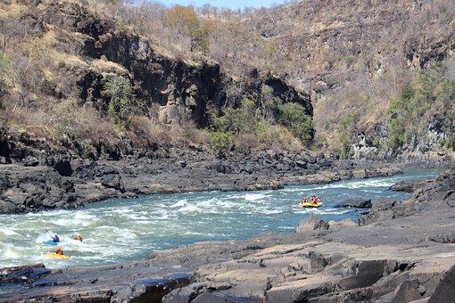 Zambezi, Rafting, Africa, Victoria, Falls, White