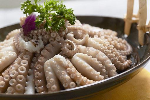 Seafood, Octopus, Squid To Be, Gourmet, Photography