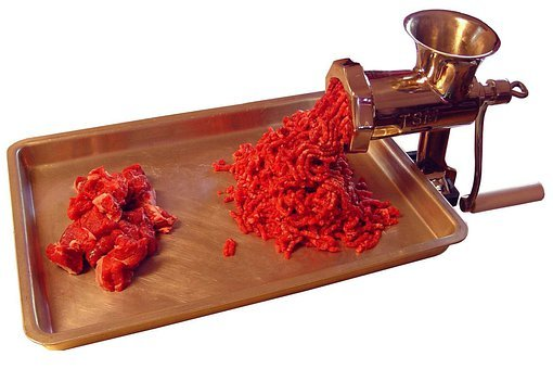 Meat Grinder, Meat Mincer, Kitchen Appliance, Grinder