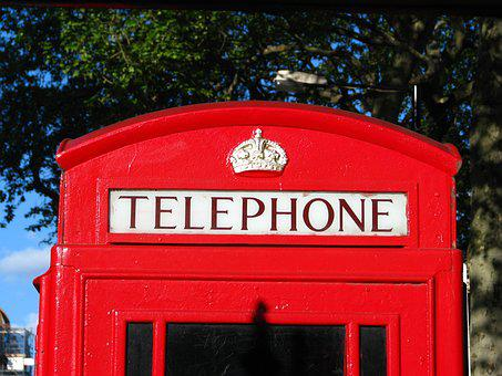 Uk, London, Telephone, Booth, Red