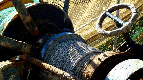 Seafaring, Detail, Ship, Maritime, Shipping, Fixing